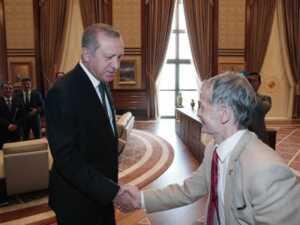Mustafa Cemiloğlu, Cumhurbaşkanı Tayyip Erdoğan ile...