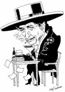 Bob Dylan, şair sayıldı ve Nobel'i aldı
