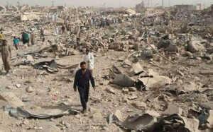 Burası bir zamanlar Harun Reşid'in ülkesi olan Bağdat...