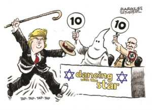 Birilerine göre: Trump'a Klan'dan ve Neo-Naziler'den 10 puan...