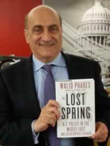 Walid Phares: Filistinli kıyımcısı, Müslüman karşıtı…