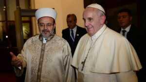DİB Mehmet Görmez.. Papa Francis ile..